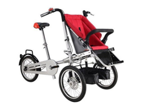 Folding Mother & Baby Stroller Bike
